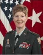 Lieutenant General Kathleen Gainey, USA
