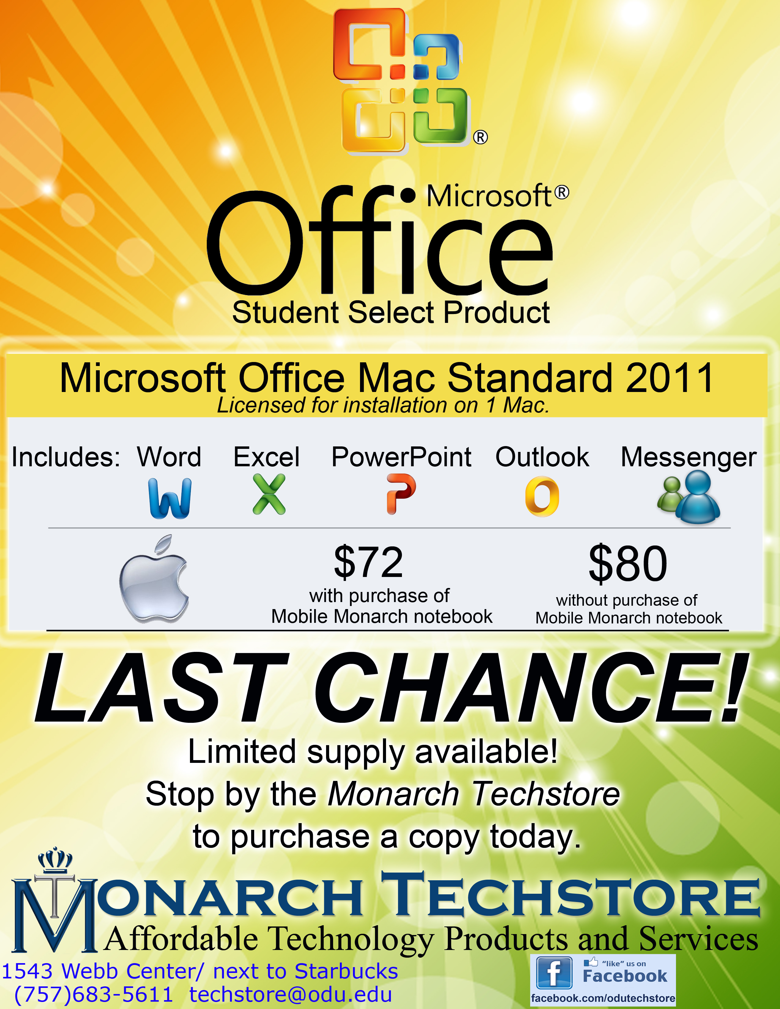 microsoft student select for mac running out student announcements office 2011 preview flyer jpg