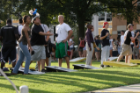 Students Play Cornhole