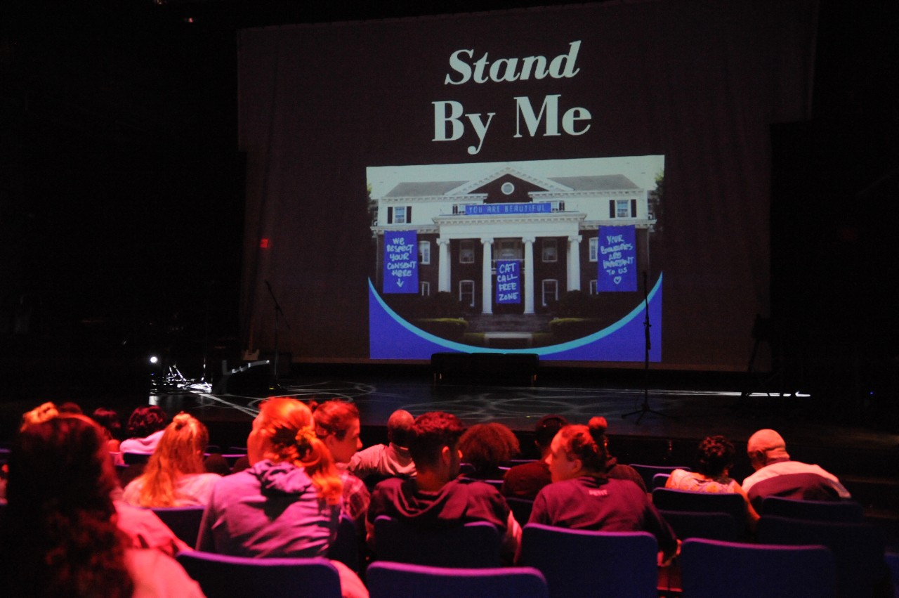 across campus a photo essay  to combat rape culture old dominion university and the virginia stage company are using the