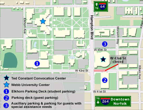 Old Dominion Campus Map.Solution 1 The Expansion Of Parking At Old Dominion University