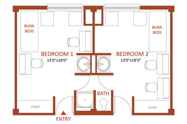Whitehurst Hall Old Dominion University – Old Dominion Homes Floor Plans